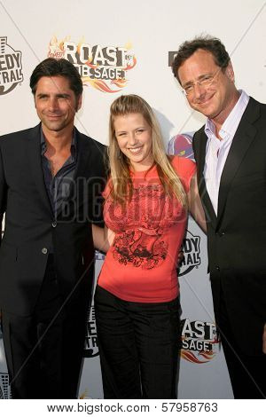 John Stamos with Jodie Sweetin and Bob Saget  at the