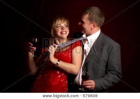 Romance Couple In Love.