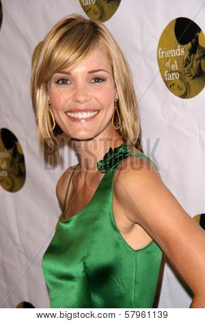 Leslie Bibb  at the 5th Annual Friends of El Faro Benefit to raise funds for the children of Tijuana Casa Hogar Sion Orphanage. Boulevard3, Hollywood, CA. 08-07-08