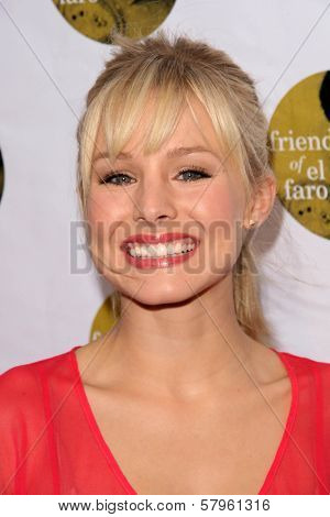 Kristen Bell  at the 5th Annual Friends of El Faro Benefit to raise funds for the children of Tijuana Casa Hogar Sion Orphanage. Boulevard3, Hollywood, CA. 08-07-08