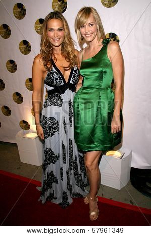 Molly Sims and Leslie Bibb  at the 5th Annual Friends of El Faro Benefit to raise funds for the children of Tijuana Casa Hogar Sion Orphanage. Boulevard3, Hollywood, CA. 08-07-08