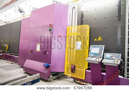 Machinery, Glass Window Factory