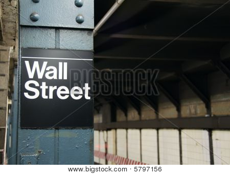 Stock Photo New York Wall Street