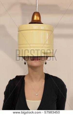 Blinkered Woman