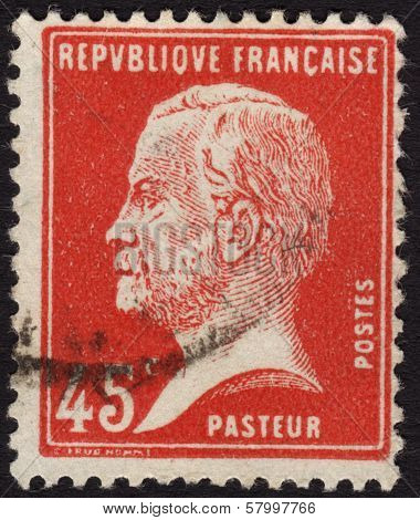 Louis Pasteur Postage Stamp France