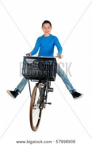 Boy On A Bike