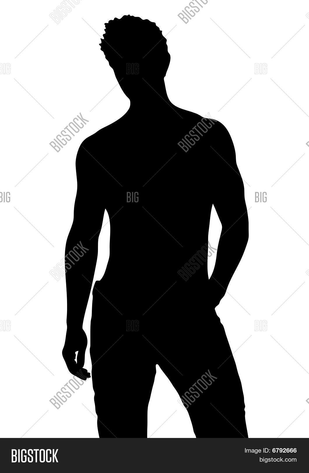 Male Silhouette Vector & Photo (Free Trial) | Bigstock