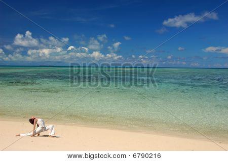 Hatha Yoga By The Beach