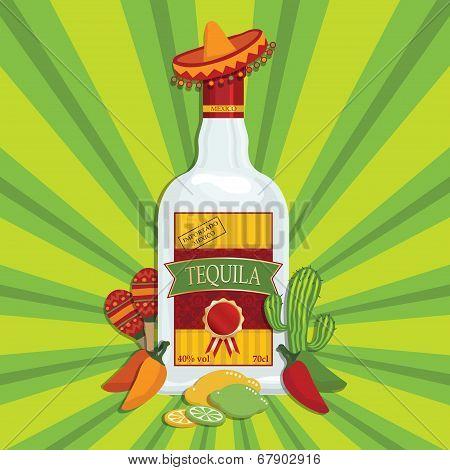 Tequila Decoration
