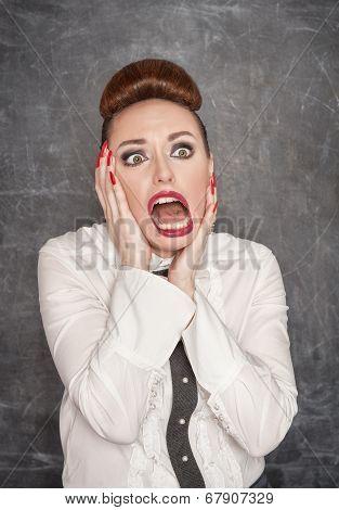 Scared Teacher