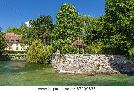 Summerhouse In A Garden In Konstanz, Germany
