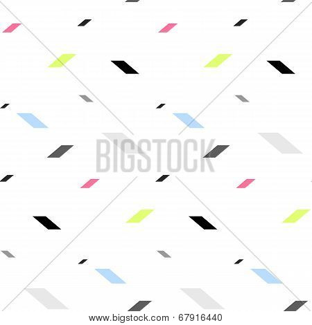 Colored Parallelepiped Pattern