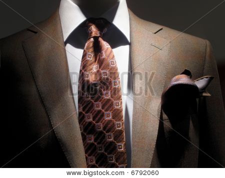 Brown Jacket And Tie (horizontal)