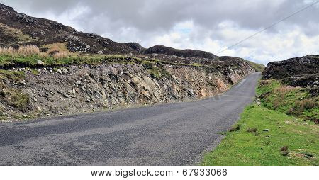 Road Near Cliffs Of Slieve League