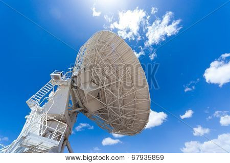 Radio satellite dish, Very Large Array (VLA) in NM, USA