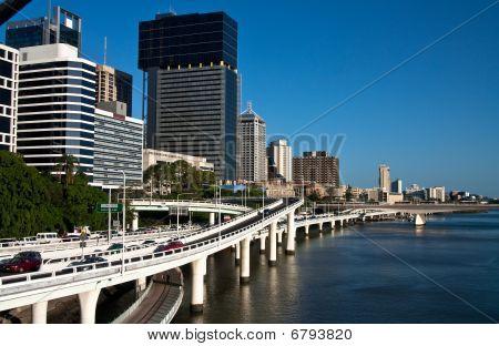 Riverside Expressways In Brisbane Australia