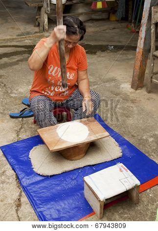 Bidayuh women of Sarawak Borneo
