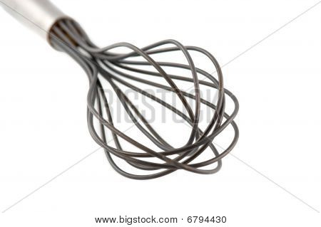 Wire Whisk Isolated On White
