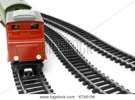 Toy Diesel Locomotive