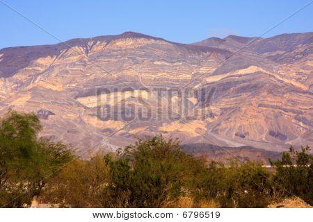 Panamint Valley mountain range