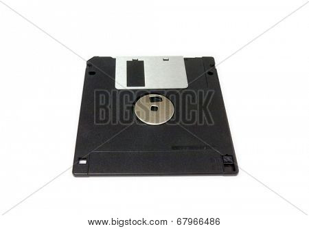 GOMEL, BELARUS - MAY 23, 2014: TDK floppy disk. TDK Corporation, is a Japanese multinational electronics company that manufactures electronic materials, electronic components, and data-storage media.