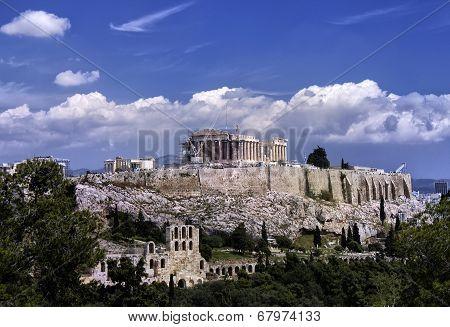 Parthenon  Acropolis, Athens, Greece