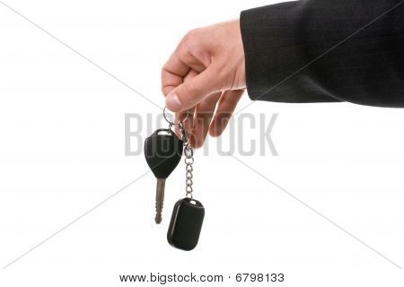 Giving Car Keys