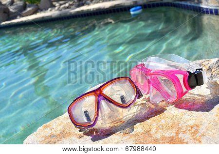 Used pool goggles