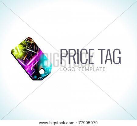 Logo Template Vector Price tag