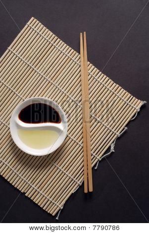Asian Food Concept, Portrait Orientation