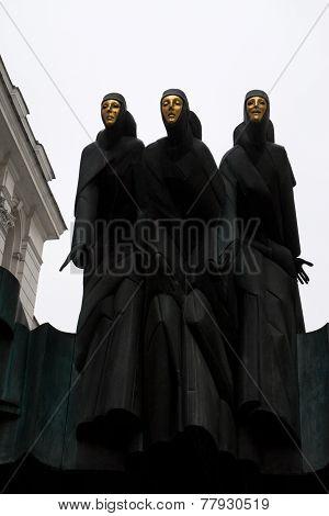 Three Muses Of Vilnius
