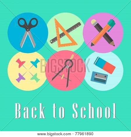 back to school conception, chancellery set