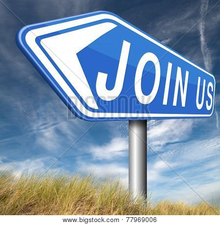 join us now online membership sign in here poster