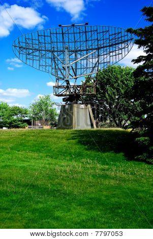 WWII Era Defence Radar Dish