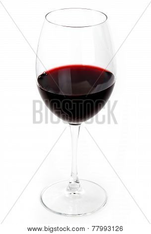 Glass Of The Red Wine