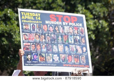 Pictures Of People Murdered By Police