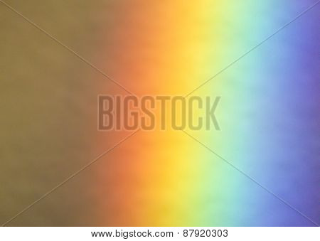 Colorful natural rainbow