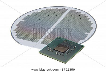 Chip and silicon wafer