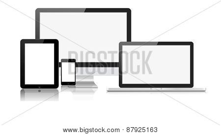Tablet Laptop Phone Monitor