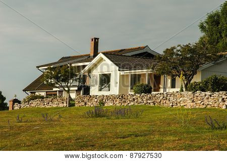 Cottage On Oland Island, Sweden