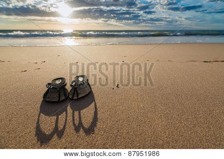 Flip-Flops on the sand