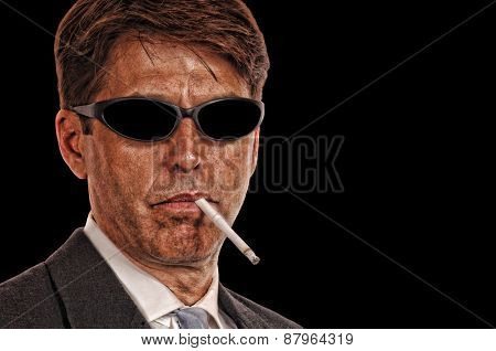 Shady Attorney with sunglasses