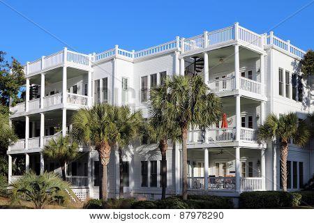 Beachside condos or apartments
