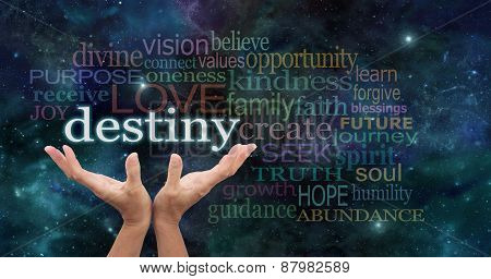 Your Destiny is in Your Hands