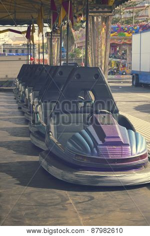 cars in lunapark