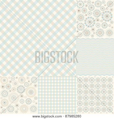 Seamless Geometric Pattern Arabesque, Cell - Illustration