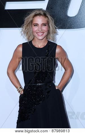 LOS ANGELES - FEB 1:  Elsa Pataky at the