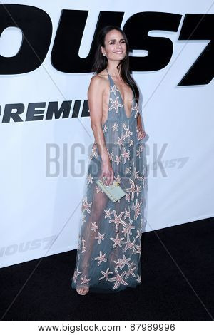 LOS ANGELES - FEB 1:  Jordana Brewster at the