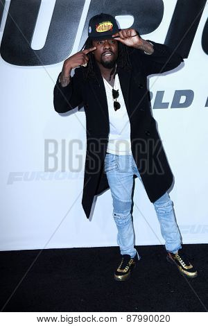LOS ANGELES - FEB 1:  Wale at the