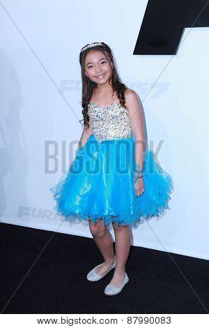 LOS ANGELES - FEB 1:  Eden Estrella at the